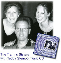 The Trahms Sisters with Teddy Stempo